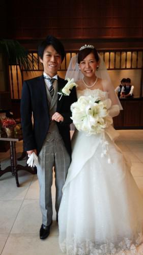 12月挙式花嫁さん