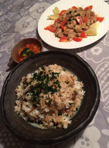 お料理教室に行ってきました。