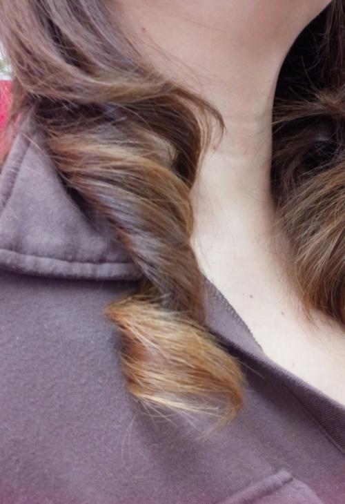 巻き髪の作り方