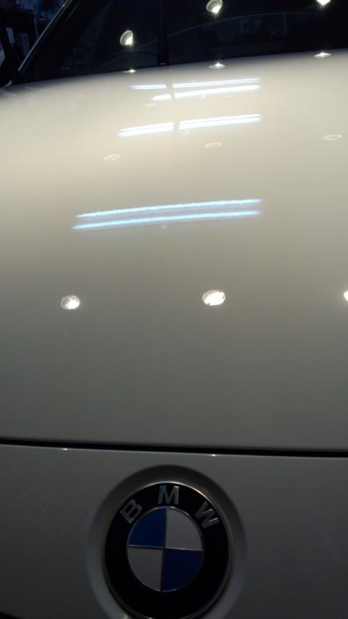 BMW320i  ガラスコーティング