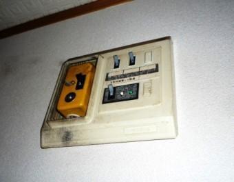 分電盤からクマネズミが室内に入り込む場合もあります