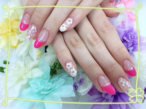 ホロの小花☆フレンチ