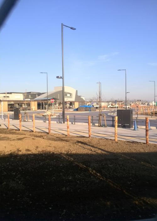 東武動物公園駅が完成間近です。