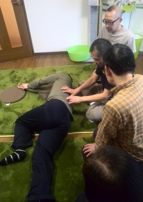 日本橋道場の勉強会に参加しています