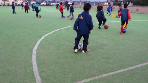 水戸市茨城町サッカークラブスクール活動