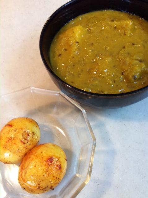 滋養食  レンズ豆のカレー