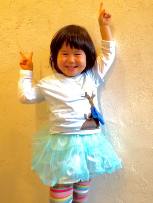 今回のリナちゃん キッズカットも可愛いく!  【 千田 】