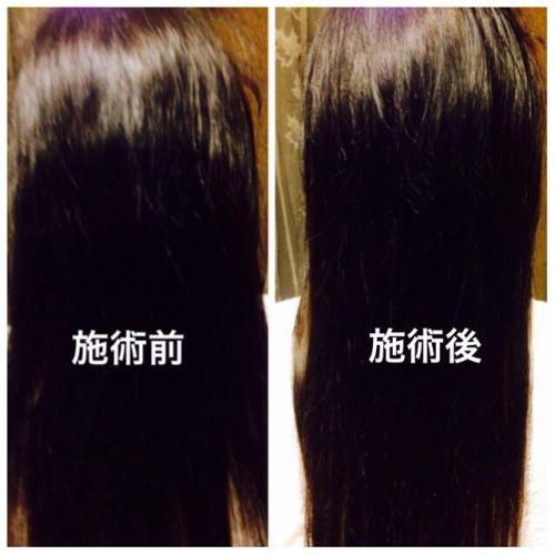 ヘッドスパ! 超音波とハーブのチカラで美しい髪へ!