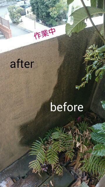 藤沢市で外壁のお掃除