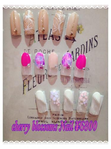 ☆cherry blossoms Nail☆¥6800
