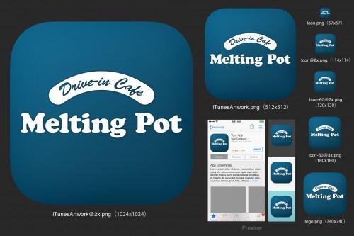 アプリを作りました。カフェの様々な特典満載です。
