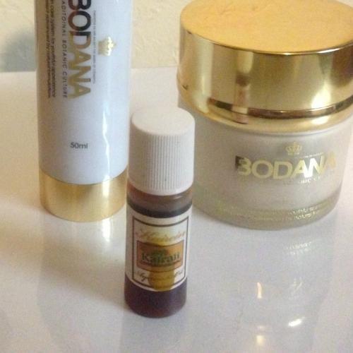 乾燥と花粉症対策に…お顔のオイル