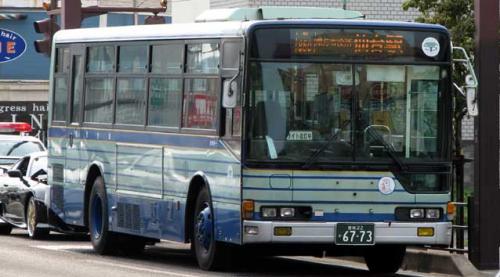 久しぶりの仙台市営バス