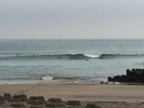 千葉南 いい波でした(^-^)