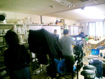 フジ月9ドラマ「ようこそ、わが家へ」のロケを行いました。