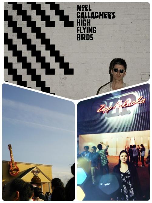 久々にZepp福岡へ♪ Noel Gallagherなの。