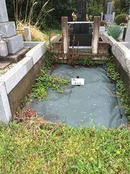 川崎市営緑ヶ丘霊園 4㎡ 「S」様墓地