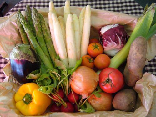 春野菜、旬の香りと味わいを
