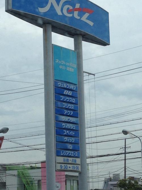 ネッツ名古屋 中川、高畑店