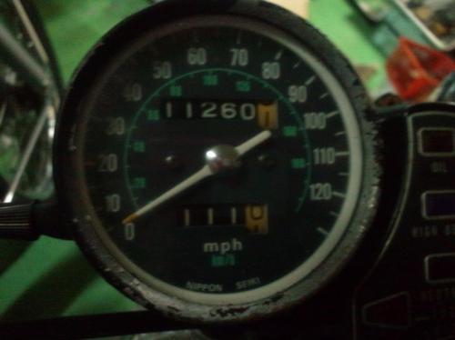CB400F/その他408ccスピードメーター