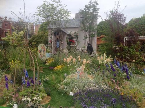 コッツウォールズ地方の庭