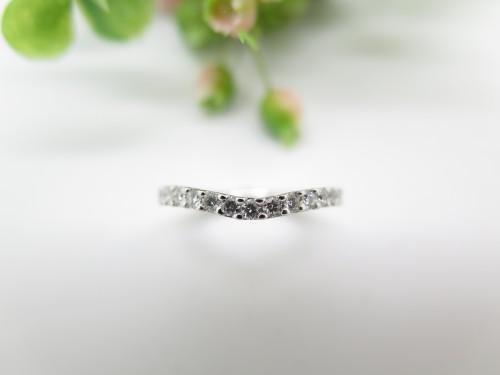 オーダメイドジュエリー エタニティリンング 婚約指輪