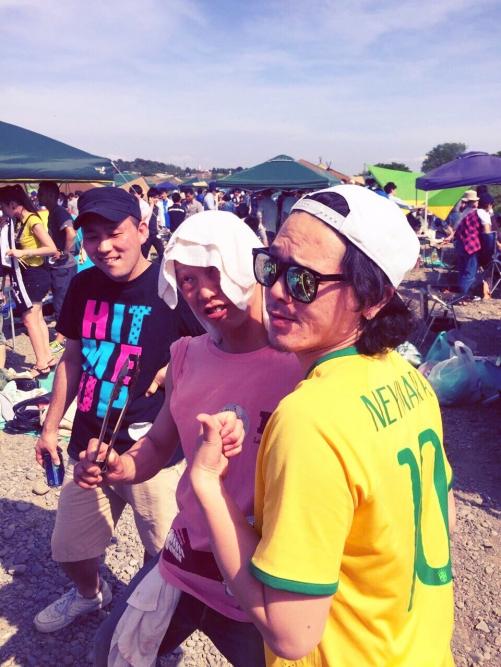BBQ〜in多摩川