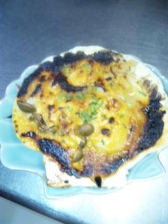ホタテの味噌焼き