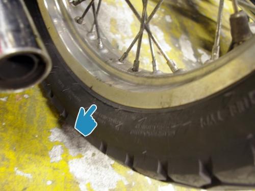 タイヤの点検、サイドのヒビにも注意!