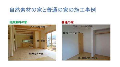 自然素材の塗り壁や無垢の木を使った家は普通の家より高いですが