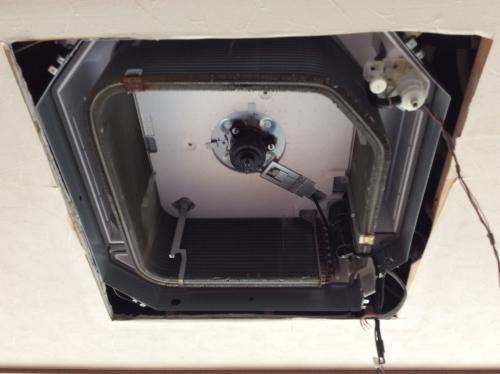 文京区 天井埋め込みエアコン クリーニング