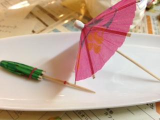 色とりどりの傘。