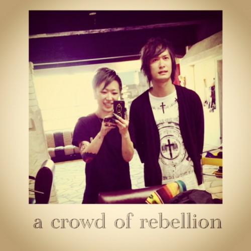 新潟 バンド a crowd of rebellion