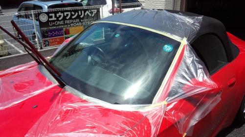 BMW   Z-4  フロントガラス