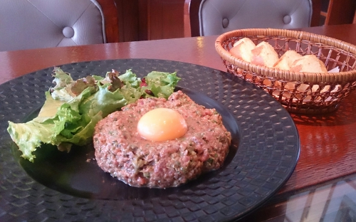 フランスの味☆馬肉のタルタルステーキ
