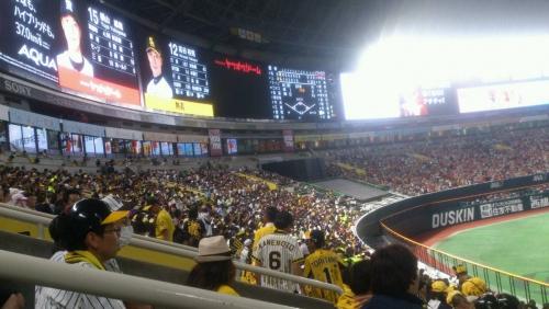 ソフトバンクホークス!野球観戦\(^o^)/