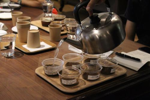 コーヒーのカッピング(Ⅱ)