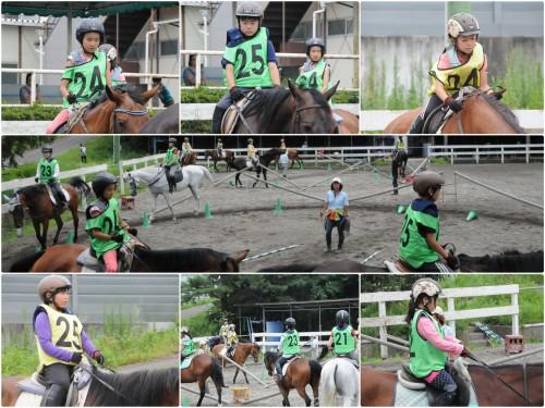文京区から夏休子供乗馬教室