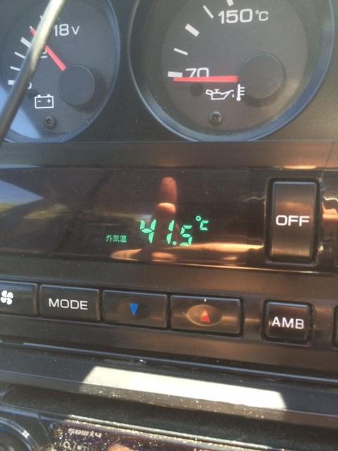 猛暑(>_<)