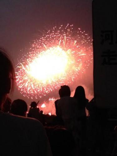 今年初花火大会☆