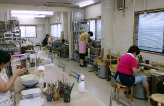 本日8月16日の陶芸教室は、隙すきでした。