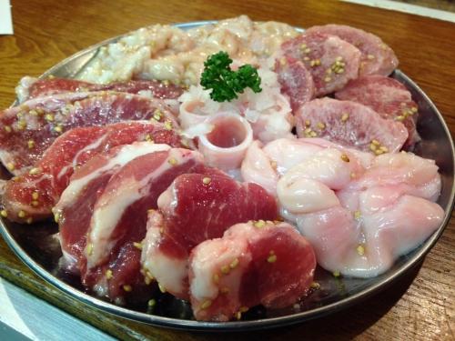 肉の日!!!焼肉、ホルモンを渋谷、神泉で