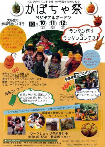 明日はかぼちゃ祭り!