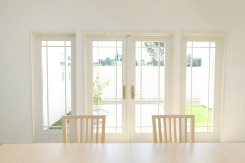 ハウススタジオ:B...ダイニングルーム&キッチンの窓まわり