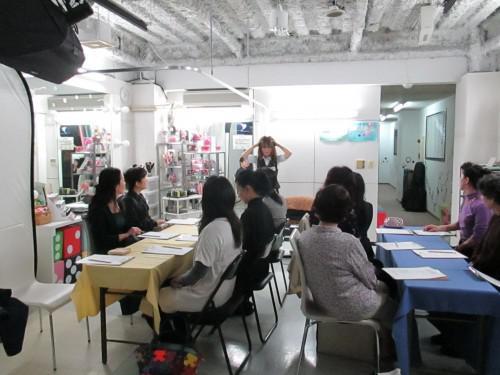 学びの時間「かんたんヘアセット講座」を開催しました!