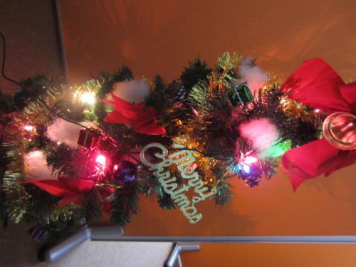 クリスマスツリーの季節がやってきました