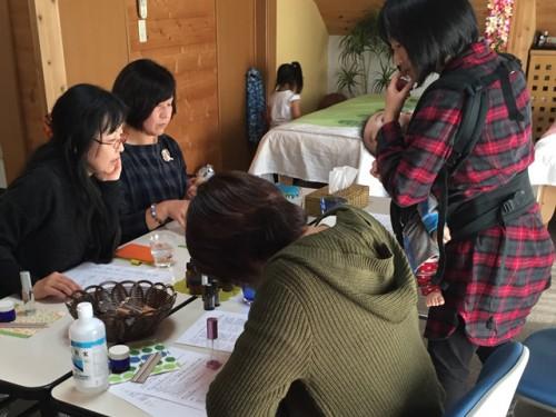 【アロマ】ウィルス感染予防ミストと免疫サポートクリーム作り