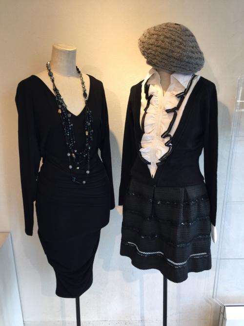 エリザベッタ フランキーのブラックドレス