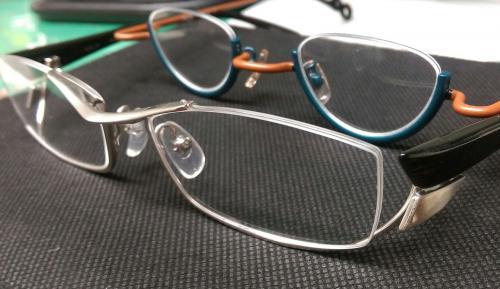 アンダーリムのメガネ ビジョンサポート 大船 鎌倉