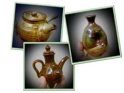 陶芸教室けんぼう窯の忘年会のプレゼントが焼き上がり。